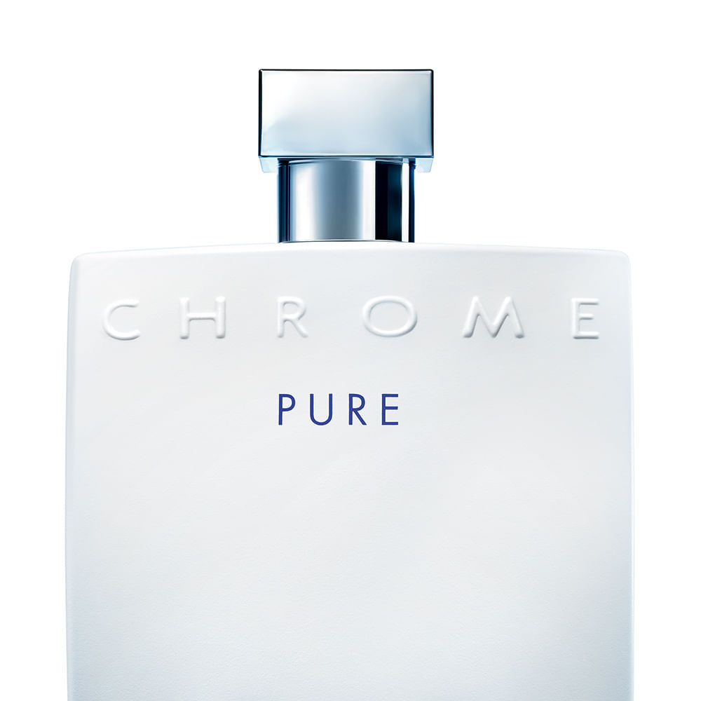 Perfume Chrome Pure Masculino Eau de Toilette 100ml